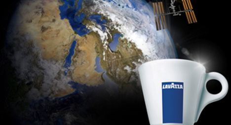 VIDEO: Lavazza to bring coffee to outer space