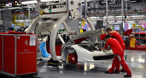 Italy's economy gets boost from industry