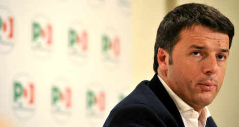 'Corruption is bad for Italy's image': Renzi