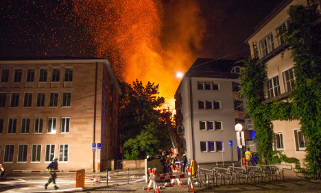 Fire badly damages 650-year-old church