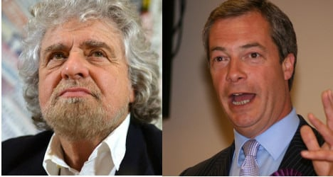Beppe Grillo to join Nigel Farage in EU parliament