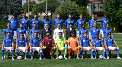 Italy side looks to slay ghost of World Cup 2010