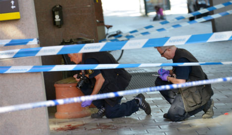 Man stabbed to death outside Stockholm club