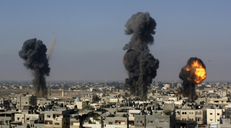 Bildt lays out four steps to Gaza peace