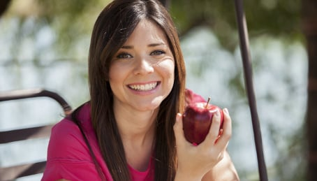 Women who eat apples have better sex