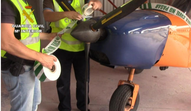 Police seize four planes in mega-hash bust