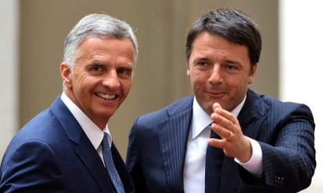 Swiss-EU relations discussed in Rome