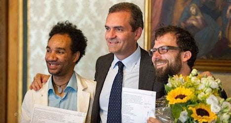 Naples registers its first gay marriage