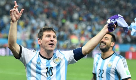 Löw relishes Argentina clash in World Cup final