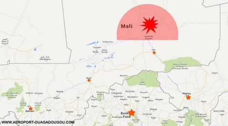 Plane with 51 French on board 'crashes in Mali'