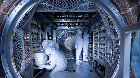Space ship brings special cargo for astronaut