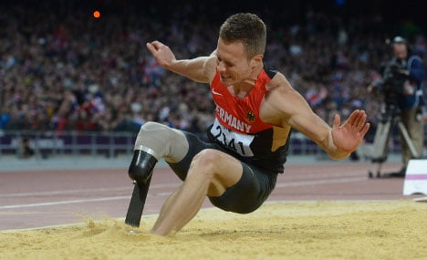 German squad leaves out one-legged long jumper