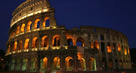 Tourists caught carving names into Colosseum
