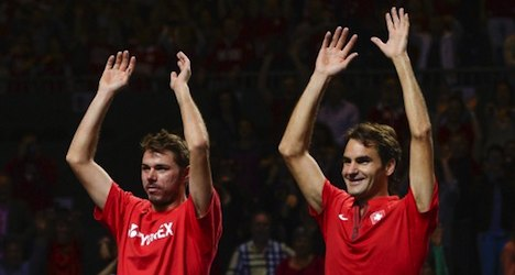 Swiss top two officially tapped for Davis Cup
