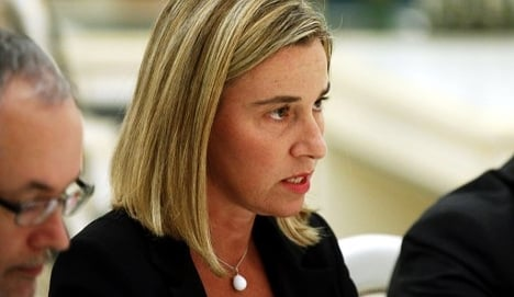 EU Socialists back Italy FM for foreign policy job