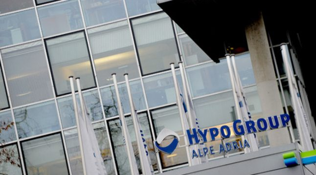 Hypo bank defaults on bond payments