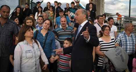 France welcomes 40 Iraqi Christian refugees