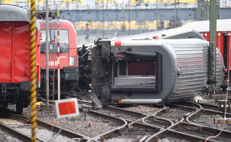 35 hurt as trains collide in southern Germany