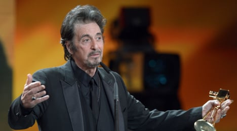Al Pacino joins line-up at Venice film festival