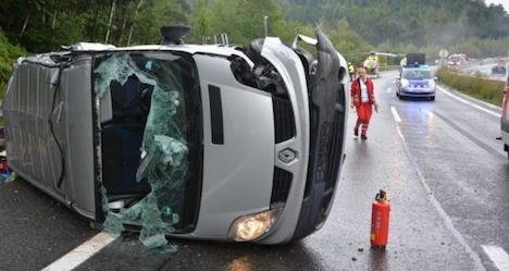 Accident on A2 leaves two people dead