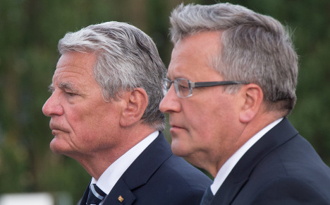 Russia 'severed' from Europe: President Gauck