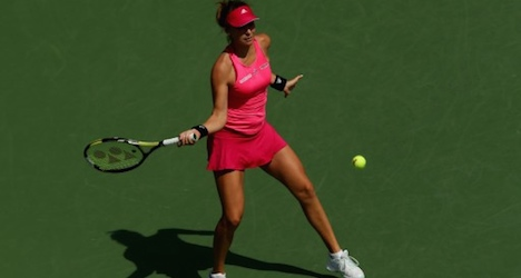 Switzerland's Bencic knocked out of US Open