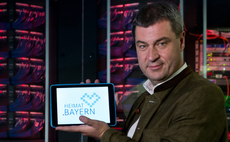 Bavarian independence becomes reality online
