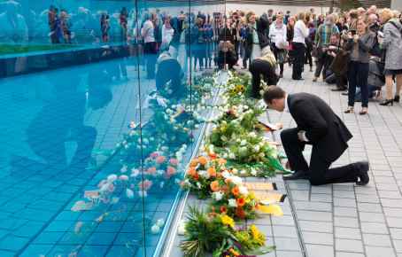 Glass memorial honours Nazi disabled victims