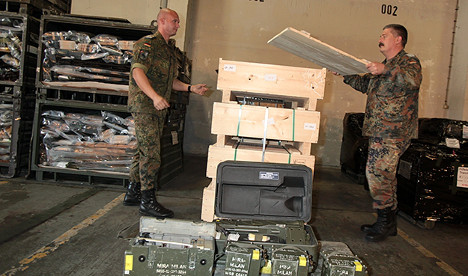 Germany's first Iraq arms delivery is ready