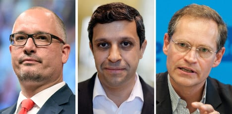 One of these men will be Berlin's next mayor