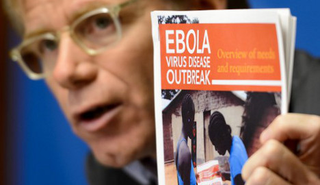 Switzerland set for Ebola vaccine clinical trials