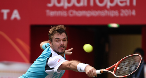 Wawrinka knocked out early at Japan Open