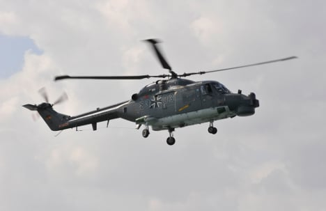 Half of German navy helicopters grounded
