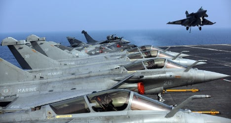 France launches recon missions in Iraq