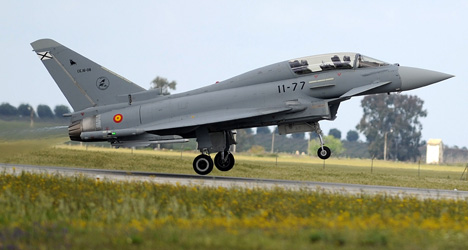 Most Spanish Eurofighter jets can't fly: report