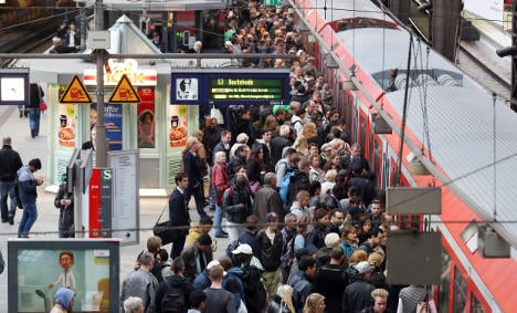 Trains return to normal after 14-hour strike