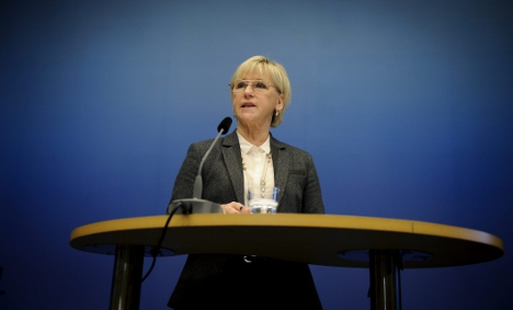 Palestine recognized as state by Sweden