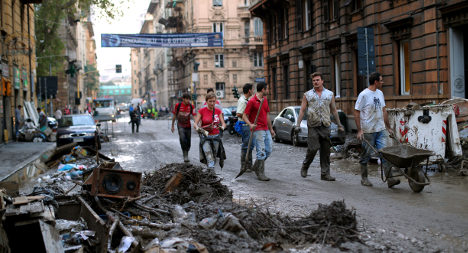 Flood-hit Genoa to benefit from Italy friendly