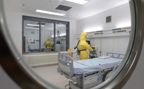 Germany has just ten Ebola beds