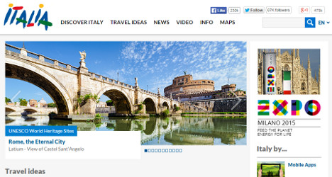 Italy's €20m tourism site boss quits over pay