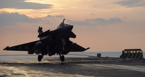 France sends more fighter jets to fight Isis