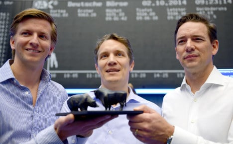 Rocket Internet shares disappoint on first day