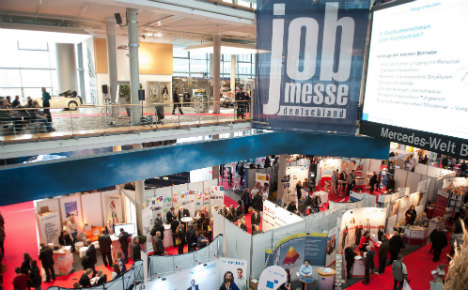 What you can get out of a German job expo