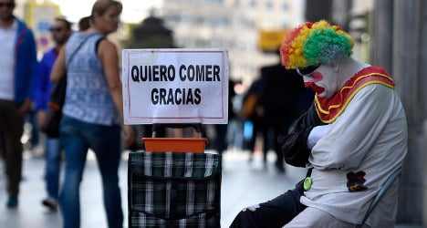 One in four Spaniards live in poverty: report