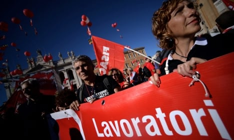 Italy labour strike set for December 12th