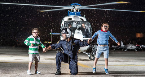 Riot cops star in Down Syndrome calendar
