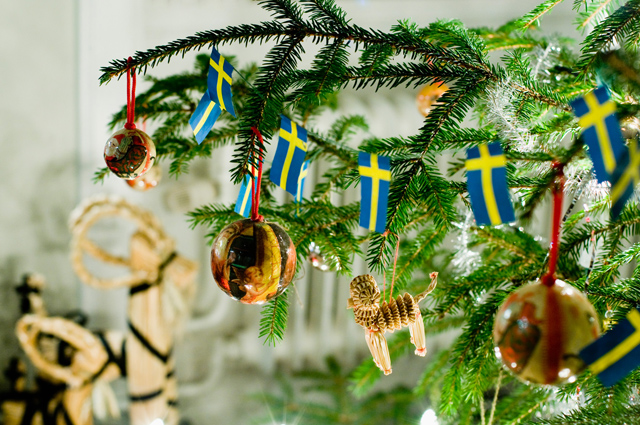 Decorating your home for Swedish Christmas