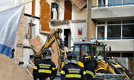 Two pulled from rubble of collapsed building