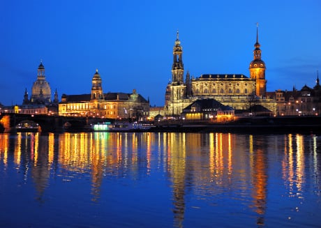 What does Dresden have against Muslims?