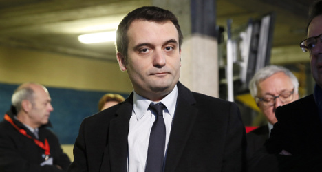 French far-right boss sues mag that outed him